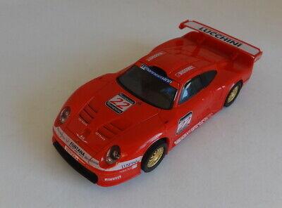 Scalextric C Porsche 911 GT1 Lucchini #22 Lights Very