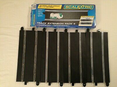 Scalextric C Track Extension Pack 4 - Straights 1:32