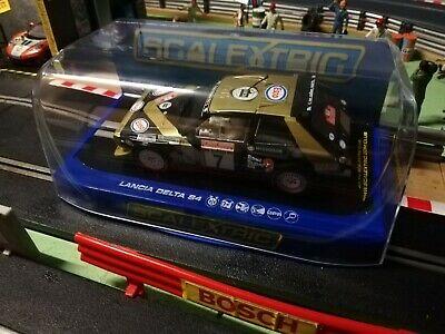 Scalextric Car C Lancia Delta S4-F  SAN Reno Rally
