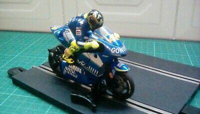 Scalextric MK2 MOTO GP Yamaha Valentino Rossi Very Good