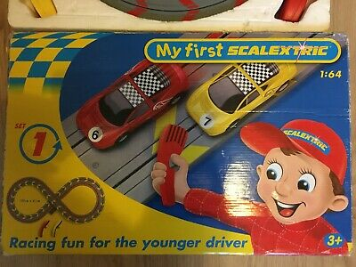 Scalextric My First Scalextric Set Age 3+ Size 1;64