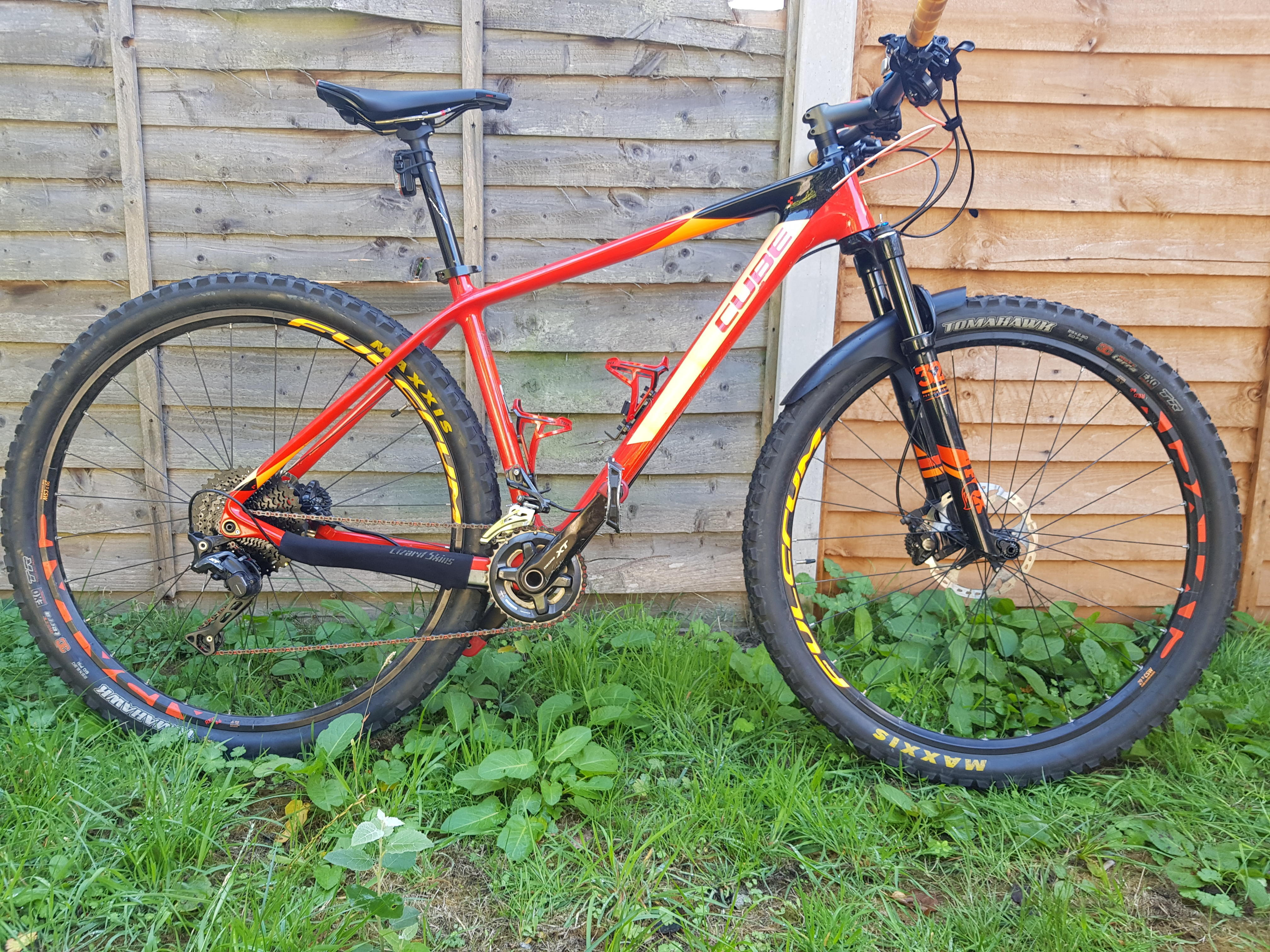 "Cube Reaction GTC SL 29"" hardtail xc mountain bike"