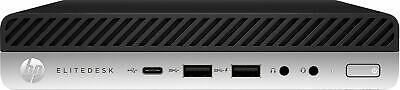 HP EliteDesk 705 G4 AMD Ryzen GE 8 GB DDR4-SDRAM 256
