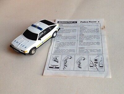 SCALEXTRIC - 1:32 scale Slot Car, C284 - POLICE ROVER