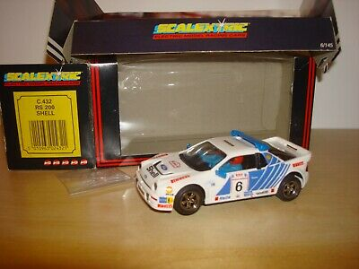 SCALEXTRIC C432 NOS 4WD FORD RS  'SHELL' NO 06 RALLY CAR