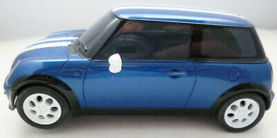 Scalextric C BMW Mini Cooper Blue With White Stripes