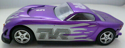 Scalextric C TVR Speed 12 Purple Silver 1:32 Slot Car