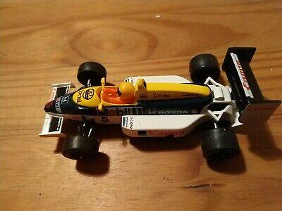 Scalextric C426 Williams Honda FW11 Turboflash #5 Nigel