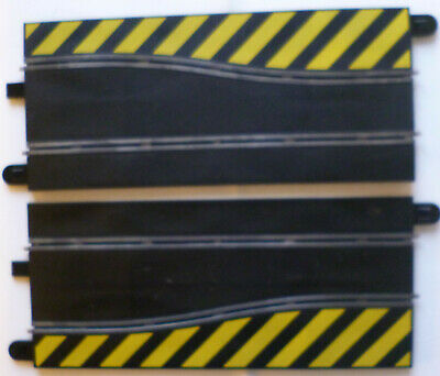 Scalextric Sport Track C Pair Of Side Swipe Straights