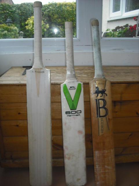 3 Cricket Bats