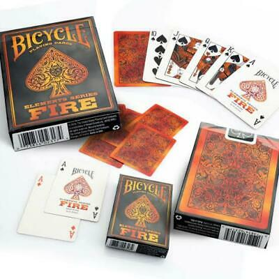 Fire Elements Series Bicycle Playing Cards Poker Casino
