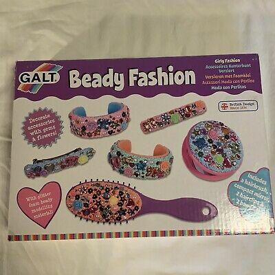Galt Toys Beady Fashion Craft Kit for Children/ Brand New