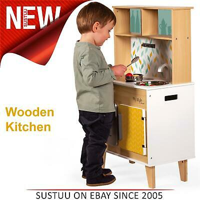 Janod My Style Big Cooker│Wooden Kitchen Imaginative Play