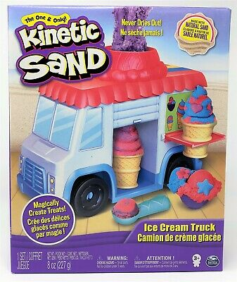Kinetic Sand Ice Cream Truck Playset Toy