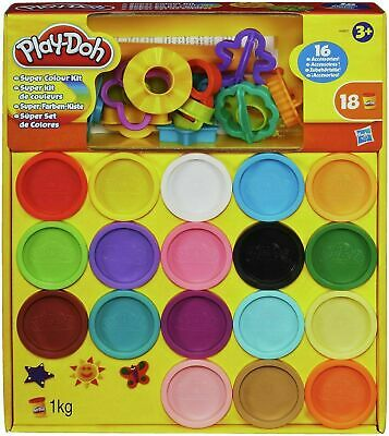 Play-Doh Super Kit 18 TOY different Colour Kit kids Creative