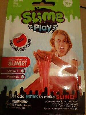 Slime Play - red - Makes 4 litres