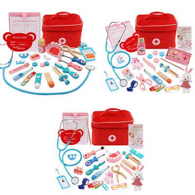 Children Pretend Doctor Toy Set Durable Nurse Injection Tool