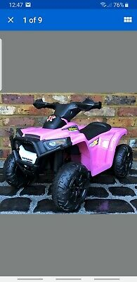 Kids My First Mini 6v Electric Battery ride on Quad Bike -