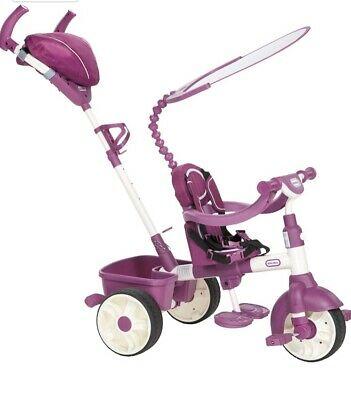 Little Tikes 4 in 1 Trike Purple Brilliant Condition