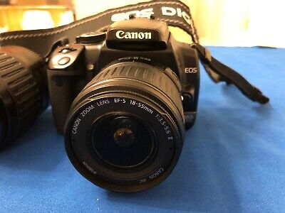 Canon EOS 400D 10.1 MP Digital SLR Camera - Black (Kit with