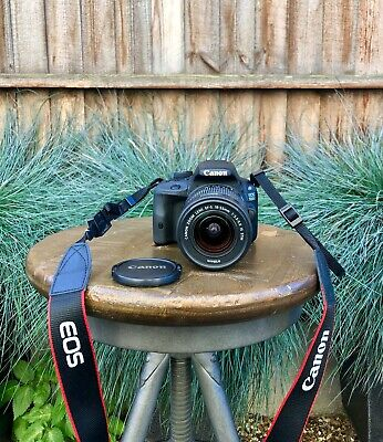 Canon EOS 550D 18.0MP Digital SLR Camera - Black (Kit w/