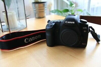 Canon EOS 5D Mark II 21.1MP Digital SLR Camera [Body Only] +