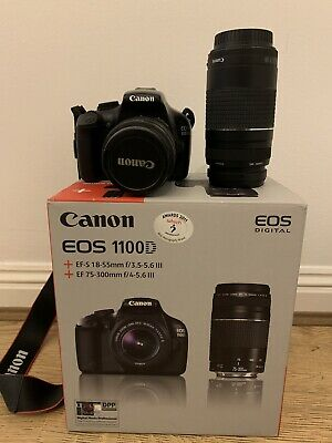 Canon EOS D Digital SLR Camera With Double Zoom Kit