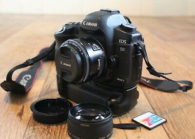 Canon Faulty EOS 5D Mark II 21.1MP Digital SLR Camera with