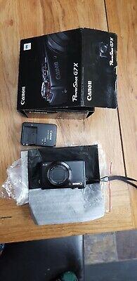 Canon PowerShot G7X 20.2MP Digital Camera - Black