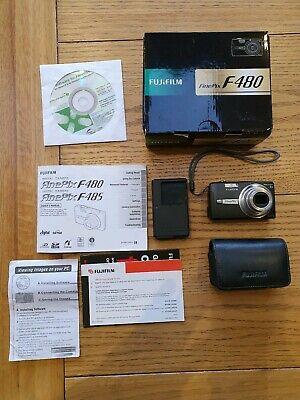 Fujifilm FinePix F Series FMP Digital Camera - Black