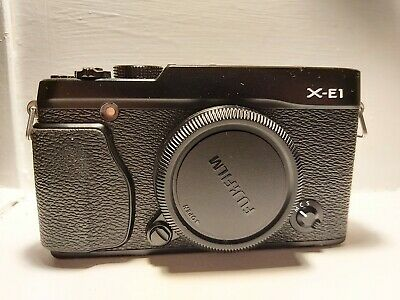 Fujifilm X Series X-E MP Digital Camera - Black (Body