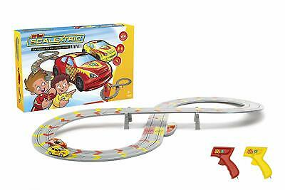 Micro Scalextric Car Set Road Life Like Super Track Cool