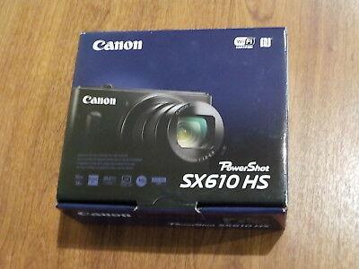 NEW in Open Box - Canon PowerShot SX610 HS 20.2 MP Camera -