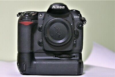 Nikon D DMP Digital SLR body with vertical grip, two