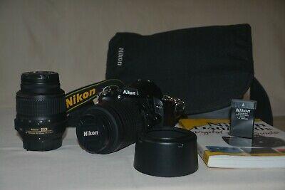 Nikon D MP Digital SLR Camera Kit Very Low Shutter