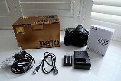 Nikon D810 Full-Frame DSLR Body Only Low Shutter Count