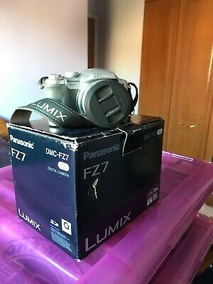 Panasonic LUMIX DMC-FZ7 6.0MP Digital Camera - Silver
