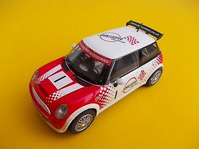 SCALEXTRIC C JOHN COOPER BMW MINI IN NEAR MINT CONDITION