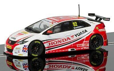 SCALEXTRIC Slot Car C BTCC Gordon Shedden Honda Civic