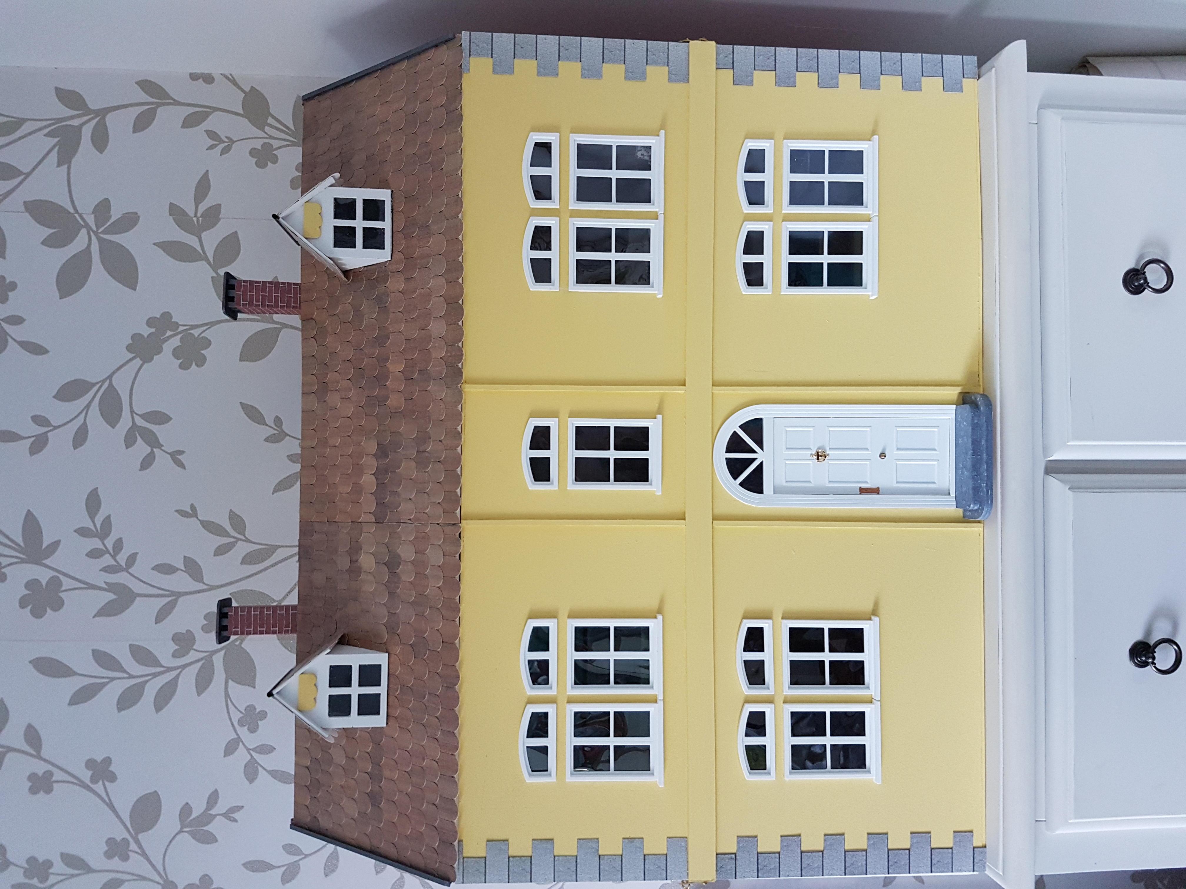 Wooden Dolls House.