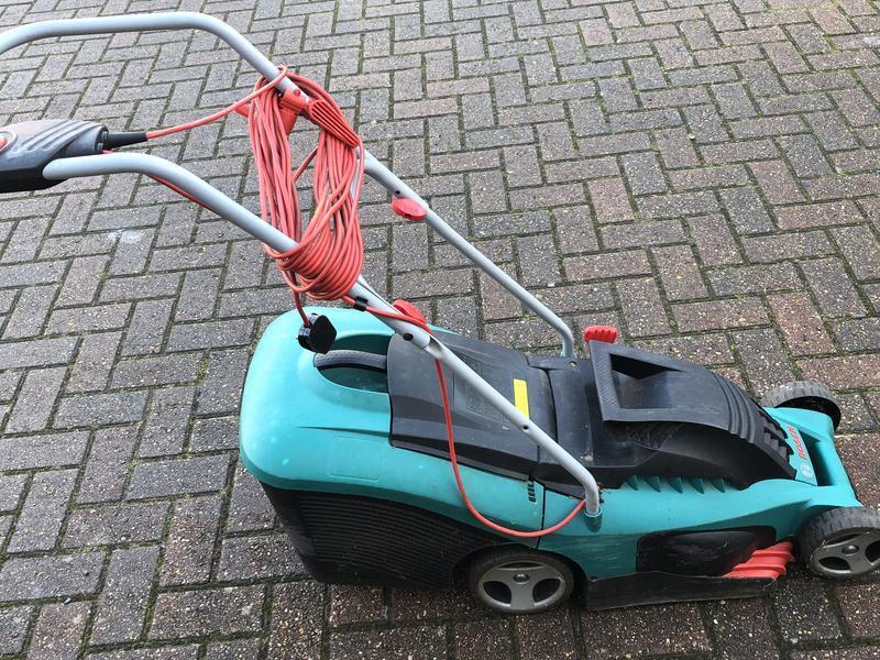 Bosch Rotak 34 R Lawnmower for sale.