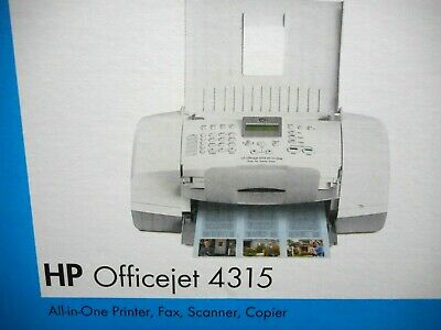 HP OFFICEJET  ALL IN ONE PRINTER, FAX, SCANNER, COPIER -