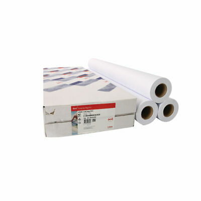 NEW! Canon Uncoated Draft Inkjet Paper 610mm x 50m Pack of 3