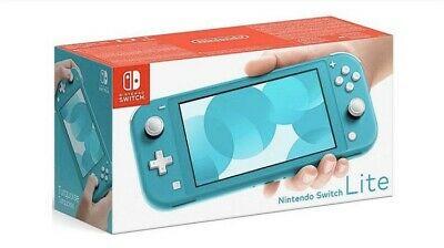 Nintendo Switch Lite Turquoise Handheld System Brand New