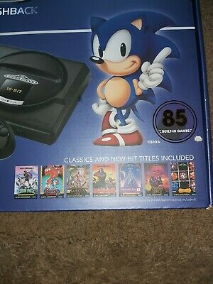 Sega mega drive flashback with 85 games, used but only