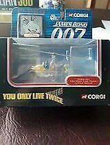 Corgi James Bond 007 helicopter - £10
