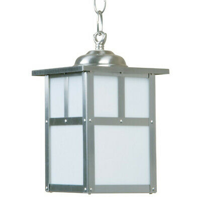 Craftmade Z Mission 1 Light Outdoor Pendant - 6 Inches