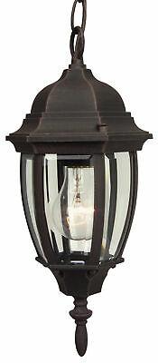 Craftmade Z261 Bent Glass 1 Light Outdoor Pendant - 6.5