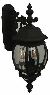 """Craftmade Z334 French Style 24"""" 3 Light Outdoor Wall Sconce"""