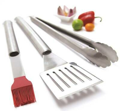 GrillPro  Tool Set, Stainless Steel, 3